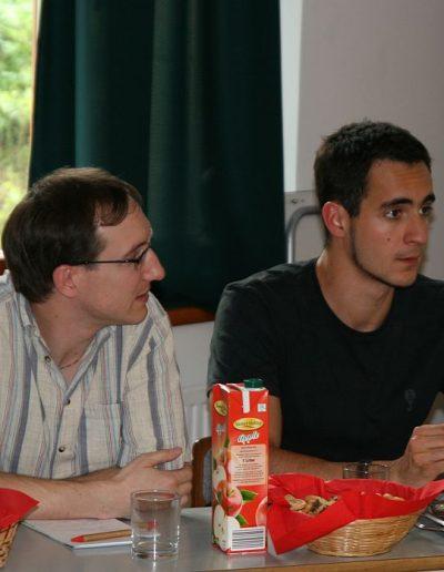 Borbás Barna (jobb oldalon)