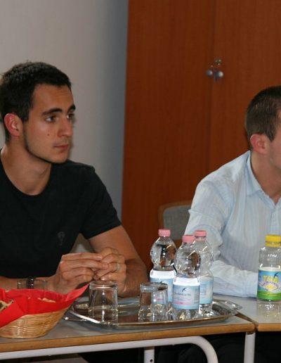 Balogh Ákos Gergely (jobb oldalon)