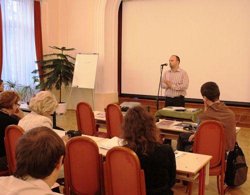 Bíró Mátyás, a KatNet szekció vezetője