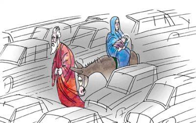 Léphaft Pál karikatúrái