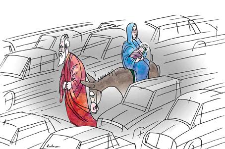 Léphaft Pál karikatúra