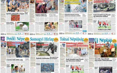 Megújította regionális napilapjait a Mediaworks