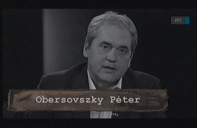 Elhunyt Obersovszky Péter