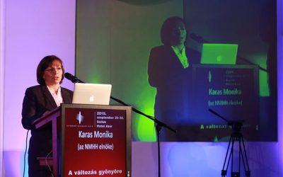 Internet Hungary – Karas Monika: a fiatalok már az internetet értik média alatt