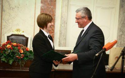 H. Pezenhófer Brigitta, a Szombathelyi Televízió munkatársa kapta idén a Szalézi Szent Ferenc-sajtóösztöndíjat