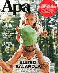 Új kiadvány a lappiacon, megjelent az Apa magazin