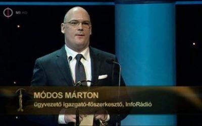 Módos Márton cégéé lett az InfoRádió