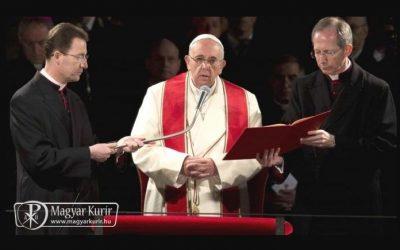 """""""Ó, Krisztus, kérünk, tanítsd meg nekünk, hogy sose szégyelljük keresztedet (…)"""""""