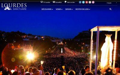 Új honlapot indított a lourdes-i kegyhely
