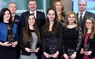 Átadták a Junior Prima díj sajtó kategóriájának elismeréseit