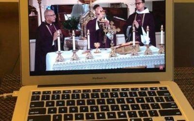 Élő szentmise-közvetítések karantén idején