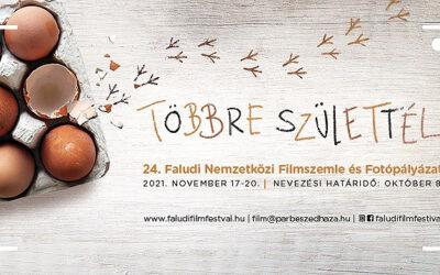 """""""Többre születtél"""" – 24. Faludi Nemzetközi Filmszemle és Fotópályázat"""